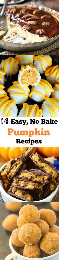 14 Easy No-Bake Pumpkin Recipes