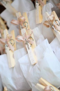 Image result for baptism party favor ideas