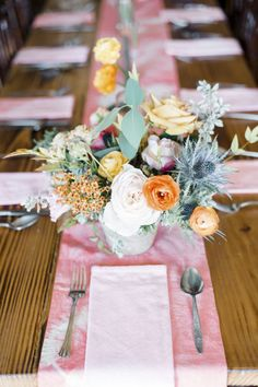 BRIK Venue | Fort Worth | Texas | Industrial | Historic | Warehouse | Wedding | Events | Bride | Groom | Beatbox Portraits | Venus & Co Floral Design | Rio Mambo Catering | HD Liquid Catering | DJ Cale Bessent | The Traveling Photo Booth | BHLDN | Details | Marfa Inspired | Table Decor | Pink Runner | Pink Napkins | Floral | Table Numbers | Wood