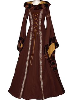 If it was socialy accaptable I would wear Medieval dresses everyday. Whose with me?