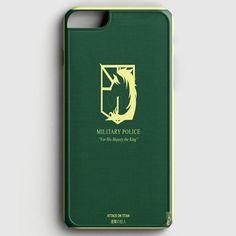 Military Police Shingeki No Kyojin Attack On Titan iPhone 6/6S Case