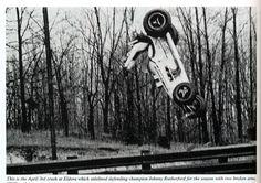 Full gainer | Vintage Sprint Car crash