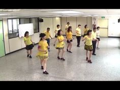 Rivers Of Babylon - line dance (demo & walk through) = 巴比倫河 - 排舞(含導跳) - YouTube