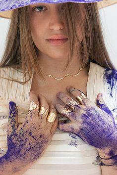 Jemima Kirke Brings Scosha Jewelry To Life #refinery29