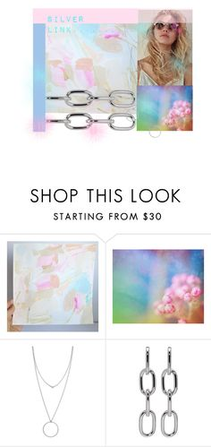 """""""Silver Link.........."""" by neotericstudio ❤ liked on Polyvore featuring Blume, Botkier and Alexander Wang"""