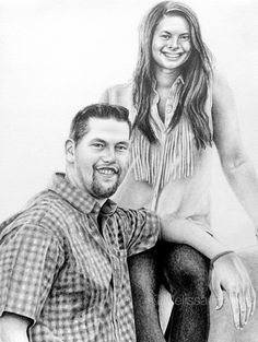 Savannah + Spencer | Melissa Helene Fine Arts & Photography 8x10 graphite portrait commission www.melissahelene.com #portrait #graphiteportrait #graphitedrawing
