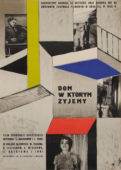 Designer: Fangor Wojciech. Title: Dom w Ktorym Zyjemy. 1958. Russian film.