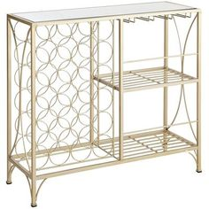 Adore this! Absolutely stunning! Hilo Wine Console - Champagne