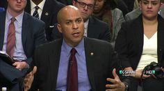 CORY BOOKER!!! Sen. Cory Booker, Rep. Luis Gutierrez and Rep. Keith Ellison Testify Before Senate Subcommittee on Civil Rights
