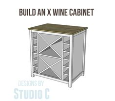 Build an X Wine Storage Cabinet
