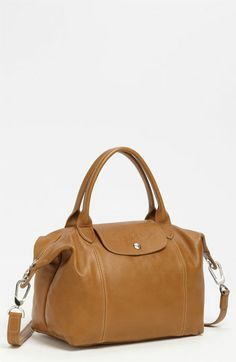 b6335e83dbbf Longchamp  Le Pliage Cuir  Leather Handbag available at  Nordstrom Longchamp