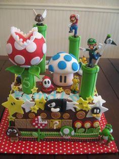 Super Mario Bros Cake [Pinterest]