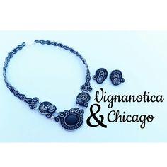 Vignanotica #necklace #soutache
