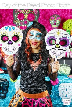 Day of the Dead party photo booth