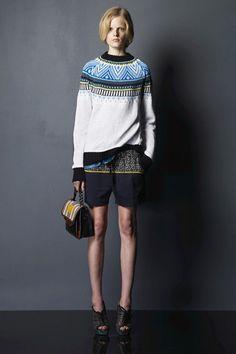 Fairisle sweater, Proenza Schouler, 2010.