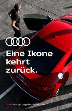 Basics / Tagline Audi, Brand Guidelines, Running, Keep Running, Why I Run