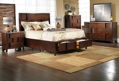 Bedroom Furniture-The Nova Collection-Nova Queen Bed