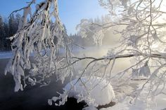 cold winter's day on the river by KariLiimatainen.deviantart.com on @deviantART