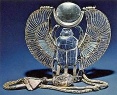 "It was not only the symbols of the gods and goddesses that were important to the ancient Egyptians. The materials were just as important as the symbols themselves. Each material was like a symbol in its own right. Materials were associated with deities, emotions and certain states of being. For example, the ancient Egyptian name for lapis lazuli, the deep blue stone so often used in ancient Egyptian jewelry, was the same word for ""joy."" Thus wearing lapis lazuli would imbue the wearer with…"