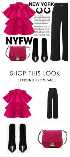 Designer Clothes, Shoes & Bags for Women Palm Beach Jewelry, Veronica Beard, Night Outfits, Proenza Schouler, Yves Saint Laurent, Hot Pink, Tiffany, Chic, Polyvore