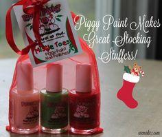 Piggy Paint makes great stocking stuffers this holiday season! - WEMAKE7