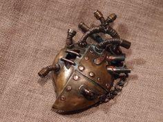 Пульс металла, или Паяный мотор. Стимпанк-сердце.