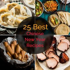 Top 25 Chinese New Year Recipes - A delicious roundup to share cooking inspiration based on my understanding of Chinese New Year, as a Beijinger.