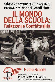 Il mondo della scuola: Relazioni e Conflittualità - Lezione gratuita ad ingresso libero