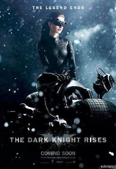 Dark Knight Rises The Movie poster Metal Sign Wall Art 8in x 12in