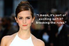 Who Said It: Emma Watson Or Hermione Granger