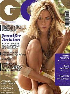 Jennifer Aniston - Covers GQ Spain -