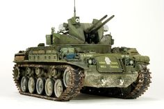 M42 Duster 1/35 Scale Model
