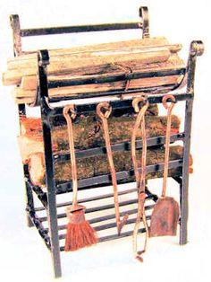 Minature rustic utility items