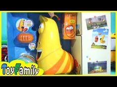 라바 장난감 모래놀이 매직샌드와 놀이터모래 ♥ 토이패밀리 장난감 애니메이션 어린이 만화 영화 - YouTube