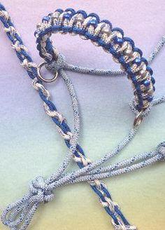 beaded rope halter (custom) uniquelyequine.com