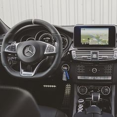 The interior of the Mercedes-AMG CLS 63!. My next Benzo