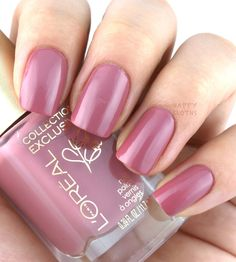 L'Oreal Collection Exclusive Pinks Collection Nail Polish; Eva's Pink