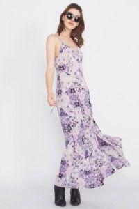 Purple Rain Maxi Dress