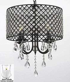 This beautiful Chandelier is trimmed with VPTIVE CANDLES 100% Crystal Chandelier. A Great European Tradition. Nothing is quite as elegant as the fine crystal chandeliers that gave sparkle to brilliant