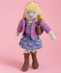 2000 Free Amigurumi Patterns: Free Lovely Lucy Doll Crochet Pattern
