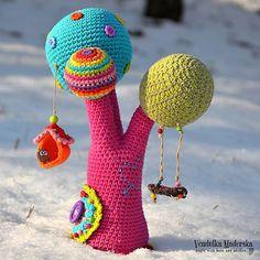 Crochet pattern Rainbow tree by VendulkaM digital crochet