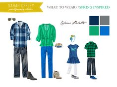 our daily obsessions: :: Photography - what to wear for spring family portraits Spring Family Pictures, Spring Photos, Family Pics, Carrie, Family Photos What To Wear, Las Vegas, Quoi Porter, Family Picture Outfits, Photographing Kids