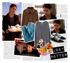 Joey Potter - Outfit Inspiration - Season 1 by vilena-ferreira on Polyvore featuring moda, MaxMara, Sandro, Vans and Oris