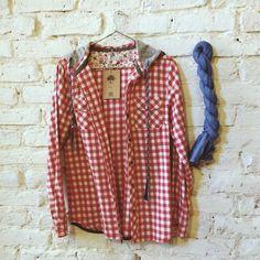 #shirt #native #indian #scarf #whitebrick #closetcircuit