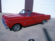 1964 Ford Falcon convertible