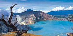 Mount IJEN, cross Situbondo, Bondowoso, Banyuwangi, East Java, Indonesia
