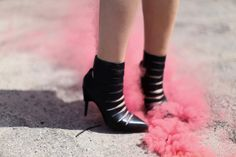 Black Strappy heels Betty Autier