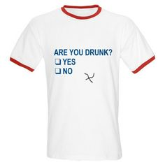 Are You Drunk? T-Shirt #funny #LOL
