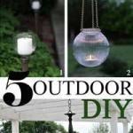 Light Up The Night: Outdoor DIY Lighting Ideas