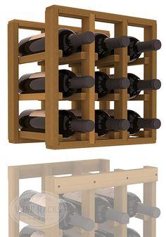 Custom handmade for family weddings Christmas birthdays Family name wine cellar rustic floating whiskey wine rack bottle holder